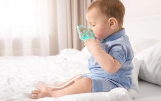 Содовые ингаляции детям при простуде