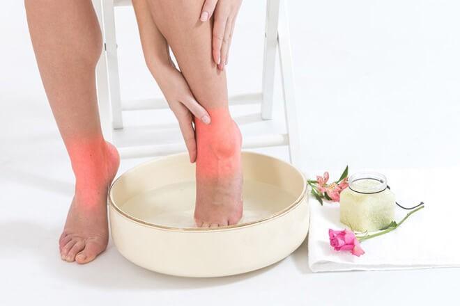 содовые ванночки для ног