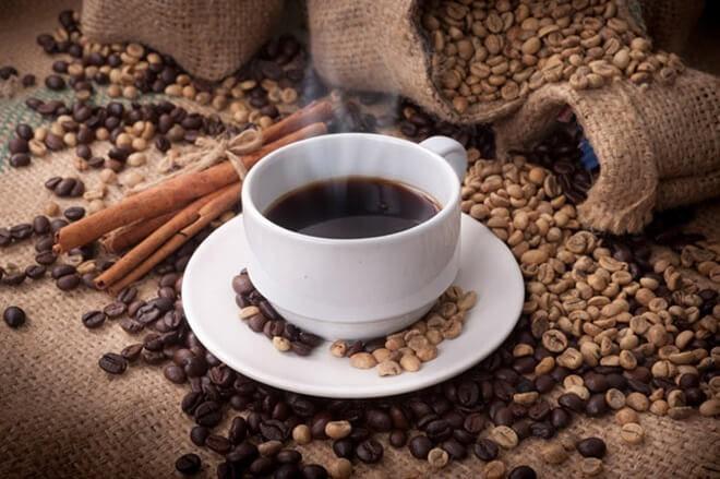 крепкий кофе с содой
