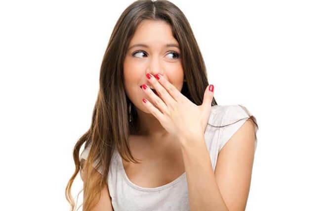 содовый запах изо рта
