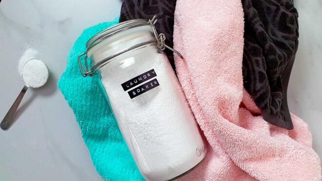 стирка полотенце содой
