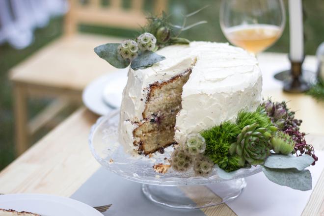 свадебный торт с пышными бисквитами