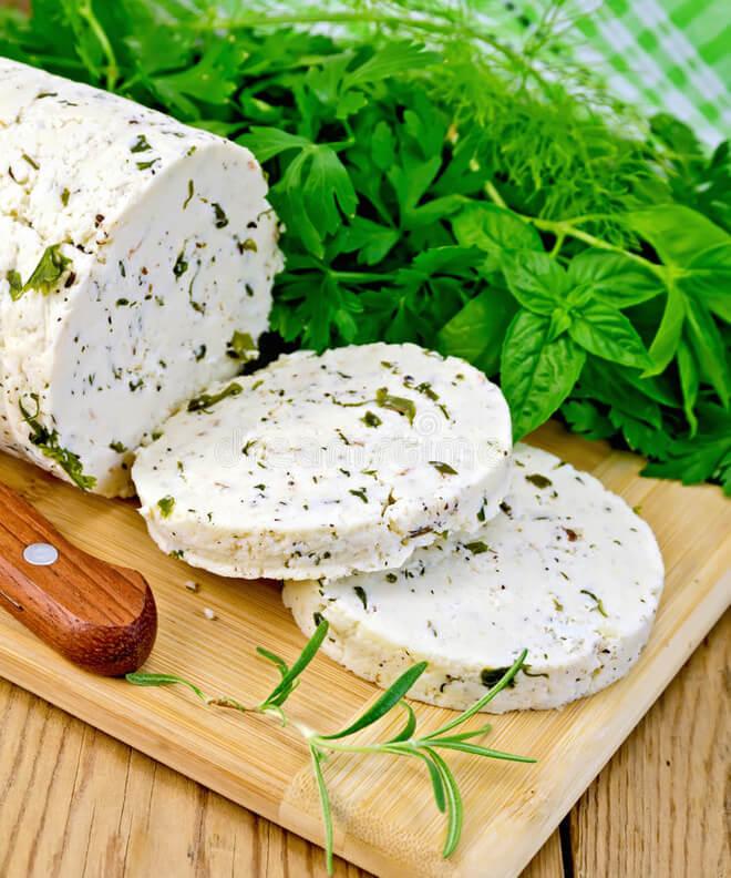 сыр с травами